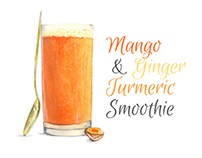 Smoothie Recipe Illustration and Design