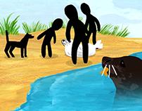 Animation for the Zeehondencrèche Pieterburen