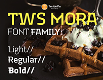"""TWS MORA"" Font family"