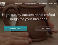 Site Audit, Redesign & SEO | Deneen Pottery