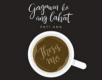 Ligaya (Calligraphy by Camille Dizon)