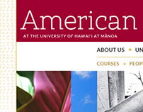 University of Hawaii at Manoa American Studies Program