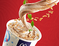 Red Tea Mcflurry Taiwan 红玉冰炫风