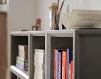 Plus, Concrete Modular Storage Solution