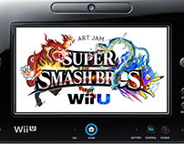 Super Smash Bros for Wii U × Art Jam
