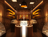 Cocobean shop design.