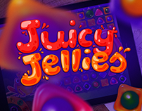 JUICY JELLIES Game Art