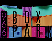 3d Projection Mapping Event / Box Park 966 -Damam