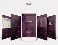 App Design | UI-UX SaxyApp