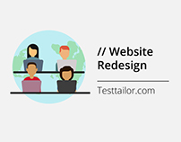 Website Redesign for TestTailor