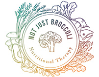Not Just Broccoli Logo Design + Brand Photography