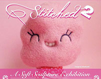 Stiched 2, soft sculpture exhibition on Clutter Gallery