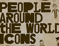 FREE PEOPLE AROUND THE WORLD ICONS
