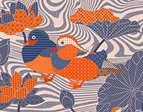 Chinoiserie Mandarin Ducks