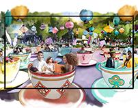 Disneyland Adventure - Agency Color Storyboards