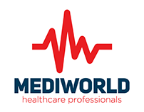 Mediworld Logo Before After / Business Card