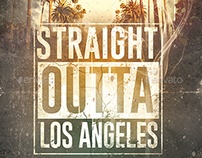 10 Straight Outta. | Poster Templates Package