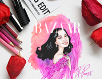Harper's Bazaar Cover 01