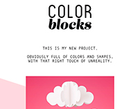 COLOR BLOCKs | unreal compositions