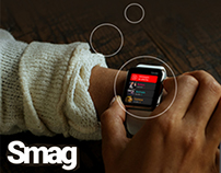 SMAG - Instant Messaging App for Apple Watch