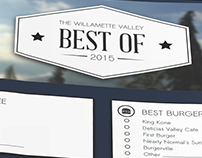 The Willamette Valley Best Of 2015