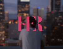 HER | Typography