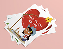 """Nina's World"" Valentine Cards"