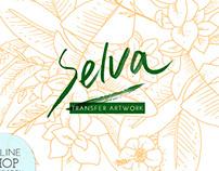 Selva - Printed Artwork