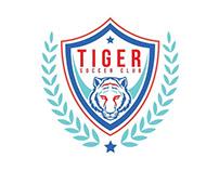 Tiger Soccer club Branding