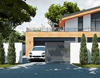 Проект дома в п. Растущий г. Екатеринбург