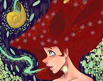 Klimt inspired Ariel