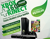 Banner de venda do XBOX 360
