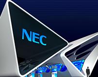 NEC Exhibit Design Concept