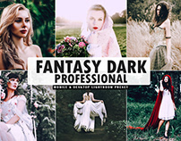 Free Fantasy Dark Pro Mobile & Desktop Lightroom Preset