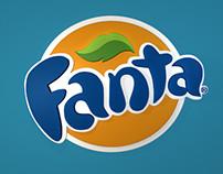 3D Fanta Logo