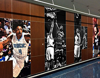 Orlando Magic Wood Wall