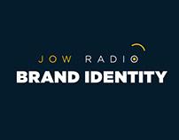 JOW RADIO BRAND IDENTITY