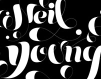Neil Young Lettering Test