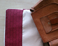 Upcycle and Stitch // Laptop sleeve