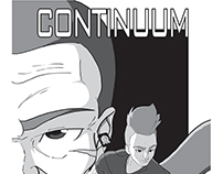 Portfólio - Quadrinhos #01 - Continuum