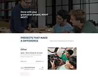 Web design project for Crowd funding platform