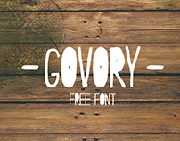GOVORY - Free Font