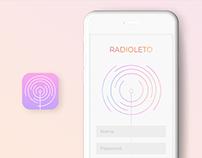 Mobile Radio App | UI Design