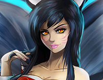 Ahri. League of legends