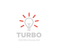 IOS Wireframe KIT Design