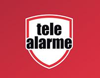 Tele-Alarme - Materiais de Comunicação