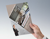 [Free Template] Real Estate Flyer & Folder Designs