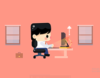 How to work and stay away from office syndrome