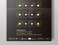 """Cartel para las """"17 Jornadas de diseño"""""""