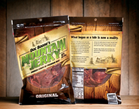 Doc Boone's Mountain Jerky Packaging